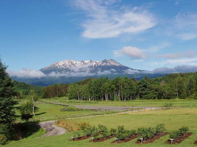 木曽御嶽と開田高原 夏