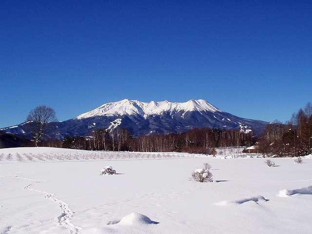 木曽御嶽 真冬