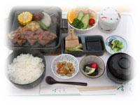 牛肉石焼ステーキ御膳(150g)