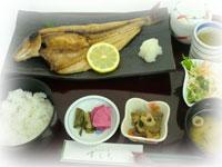 北海道産ほっけ開き焼き魚定食